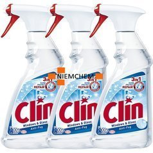 Clin Antypara Anti-Fog Płyn Mycia Szyb 3 x 500ml