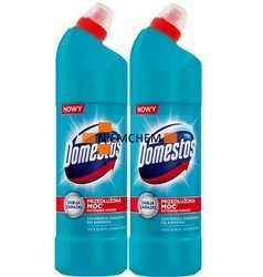Domestos Atlantic Fresh Żel Wc Zestaw 2 x 1,25L