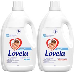 Lovela BABY Mleczko do Koloru i Białego 2 x 4,5L