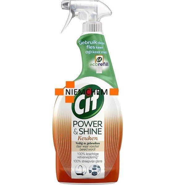 Cif Power Shine Spray Do Czyszczenia Kuchni 750ml