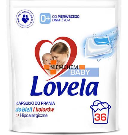 Lovela Baby Hipoalergiczne Kapsułki do Prania dla Dzieci 36szt