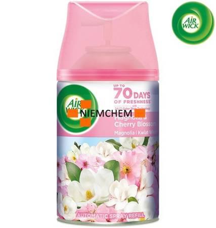 Air Wick Freshmatic Magnolia i Kwiat Wiśni Zapas Wkład 250ml