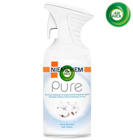 Air Wick Pure Kwiat Bawełny Odświeżacz Spray 250ml
