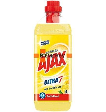 Ajax Ultra7 Zitronen Frische Płyn Podłóg 1L DE