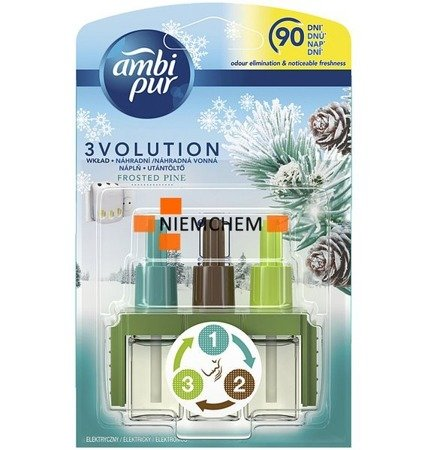 Ambi Pur 3Volution Frosted Pine Sosna Wkład 90 Dni