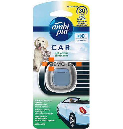 Ambi Pur Car Pet Odor Eliminator Odświeżacz 30dni