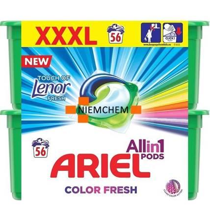 Ariel All in 1 Pods Color Fresh Lenor Kapsułki do Prania 56szt