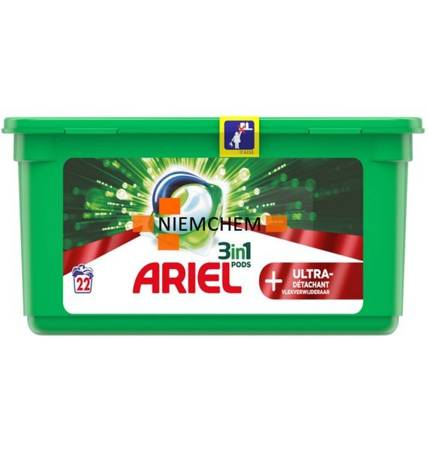 Ariel Ultra Detachant Kapsułki Prania 22szt FR