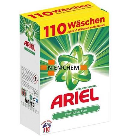 Ariel Vollwaschmittel Proszek do Prania 110pr 7,15kg DE