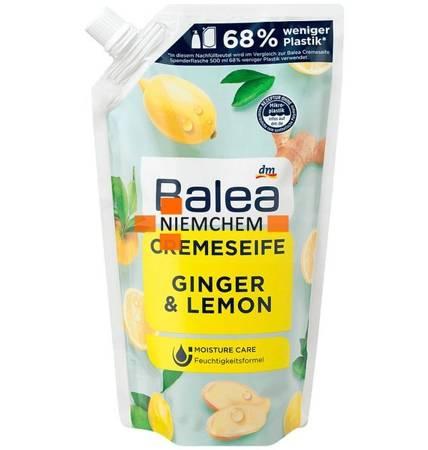 Balea Mydło w Płynie Ginger Lemon Zapas 500ml DE