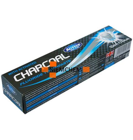 Beauty Formulas Charcoal Czarna Pasta do Zębów z Węglem 125ml UK WYPRZEDAŻ
