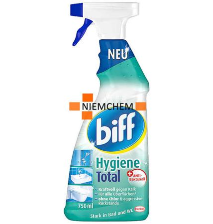 Biff Bad Total Hygiene Spray do Czyszczenia Łazienek Prysznica 750ml DE