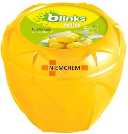 Blinks Jelly Citrus Odświeżacz Powietrza Żel 150g