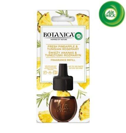 Botanica by Air Wick Electric Odświeżacz Powietrza Świeży Ananas i Tunezyjski Rozmaryn Wkład 19ml