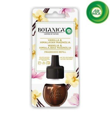 Botanica by Air Wick Electric Odświeżacz Powietrza Wanilia i Himalajska Magnolia Wkład 19ml WYPRZEDAŻ