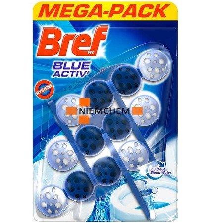 Bref Blue Hygiene Zawieszka Kulki Barwiące Wc x 3