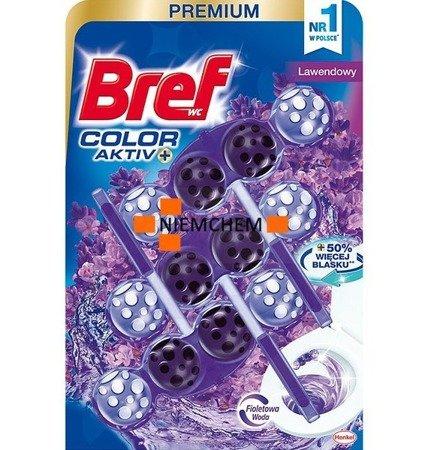 Bref Color Activ+ Lawendowy Zawieszka do WC 3x50g