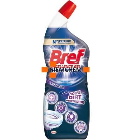 Bref Excellence Color Activ+ 100% Dirt Protector Lavender Żel do WC 700ml