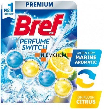 Bref Perfume Switch: Marine Citrus Zawieszka Kulki do Wc 50g