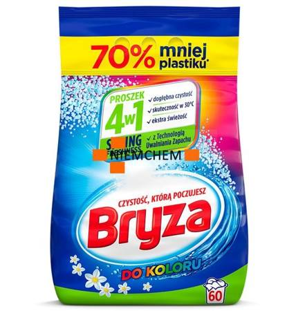 Bryza Lanza Spring Freshness Color proszek 60pr 4,5kg