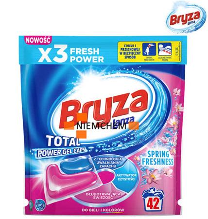 Bryza Lanza Total Power Spring Freshness Universal Kapsułki do Prania 42szt