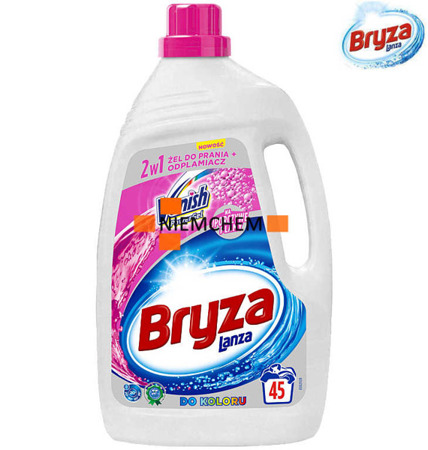 Bryza Lanza Vanish Żel do Prania Kolor 2,97L 45pr