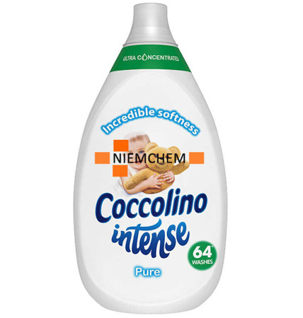 Coccolino Intense Pure Płyn do Płukania 960ml 64pr