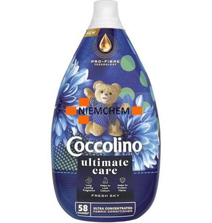 Coccolino Ultimate Care Fresh Sky Płyn do Płukania 58pr 870ml