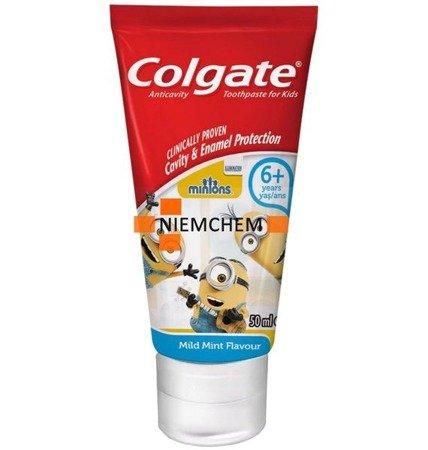 Colgate Minionki Pasta do Zębów Dzieci 6+ 50ml DE
