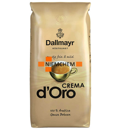 Dallmayr Crema d'Oro Kawa Ziarnista 1kg DE