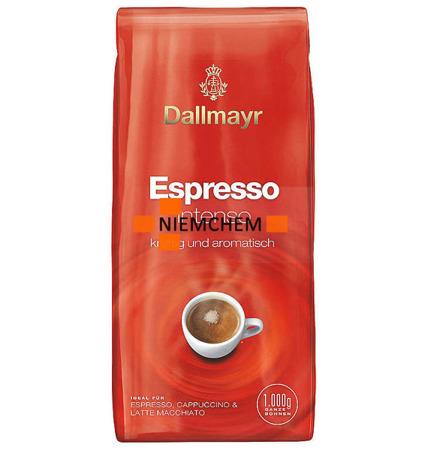 Dallmayr Espresso Intenso Kawa Ziarnista 1kg DE WYPRZEDAŻ