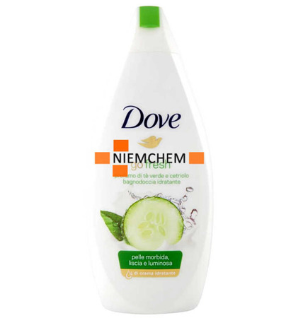 Dove Go Fresh Ogórek Herbata Żel pod Prysznic 500ml IT