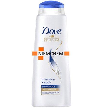 Dove Intensive Repair Szampon do Włosów Zniszczonych 400ml XL