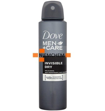 Dove Men Care Invisible Dry Spray Dezodorant 150ml