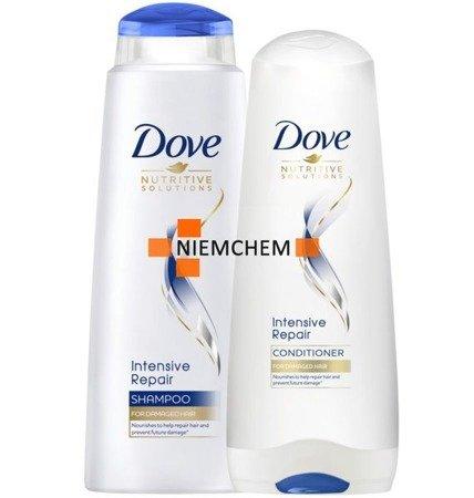 Dove Zestaw Intensive Repair Szampon i Odżywka do Włosów Zniszczonych