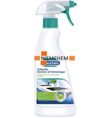 Dr Beckmann Spray do Czyszczenia Kuchni na Tłuszcz 500ml DE