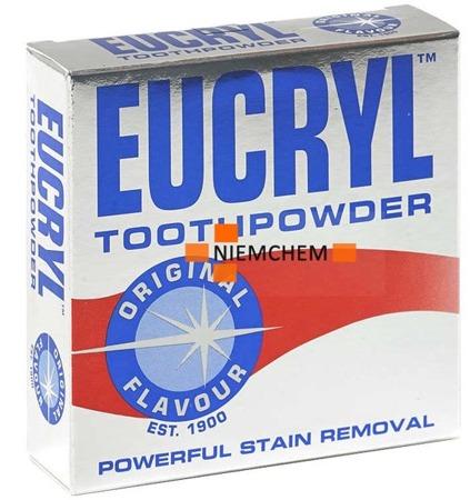 Eucryl Original Puder Proszek Wybielający do Zębów 50g UK