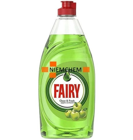 Fairy Clean Fresh Apple Orchard Płyn do Naczyń 520ml UK WYPRZEDAŻ