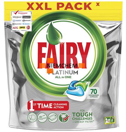Fairy Platinum All-in-1 Tabletki do Zmywarki 70szt