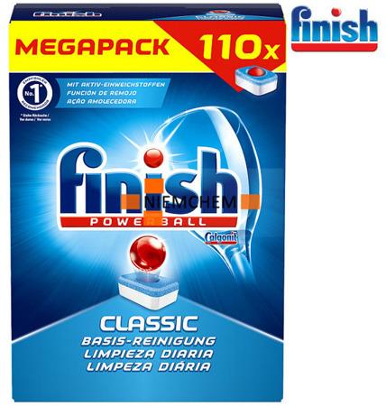 Finish Classic Tabletki do Zmywarki 110szt DE WYPRZEDAŻ