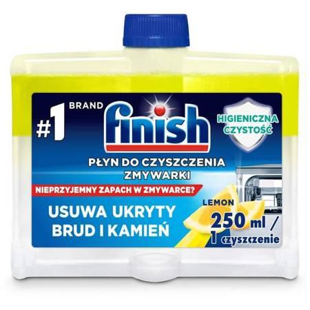 Finish Czyścik Płyn do Czyszczenia Zmywarki Lemon 250ml