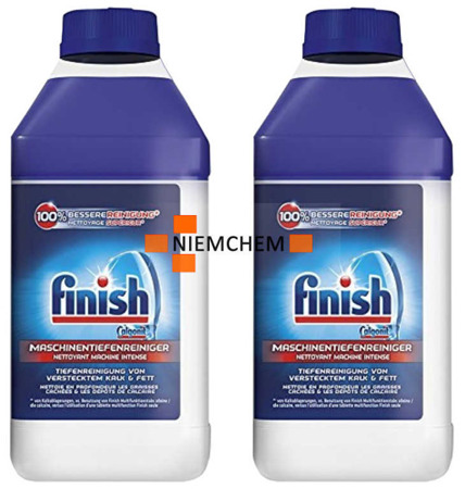 Finish Czyścik do Zmywarki Original 2 x 250ml DE