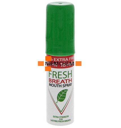 Fresh Breath Odświeżacz Oddechu do Ust Mint 18ml UK