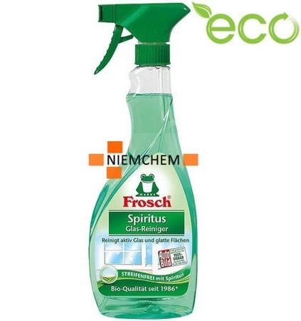 Frosch Spirytusowy Płyn do Szyb Szkła Okien Spray 500ml ECO