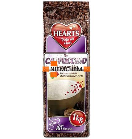 Hearts Kawa Cappuccino Amaretto Smakowe 1kg XXL DE