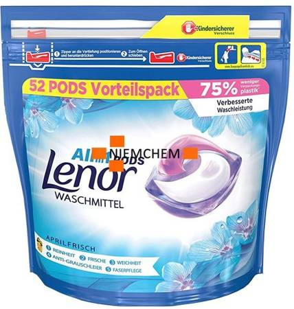 Lenor Aprilfrisch All-in1 Kapsułki do Prania 52szt DE