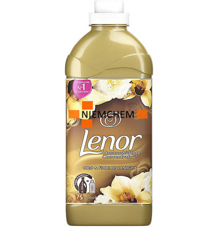 Lenor Oro & Fiori di Vaniglia Golden Płyn do Płukania 1,875L 75pr IT