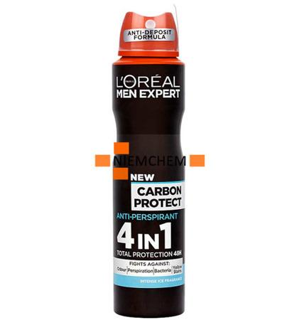 Loreal Men Expert Carbon Protect Dezodorant 250ml Spray UK