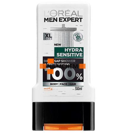 Loreal Men Expert Hydra Sensitive Żel pod Prysznic 300ml UK