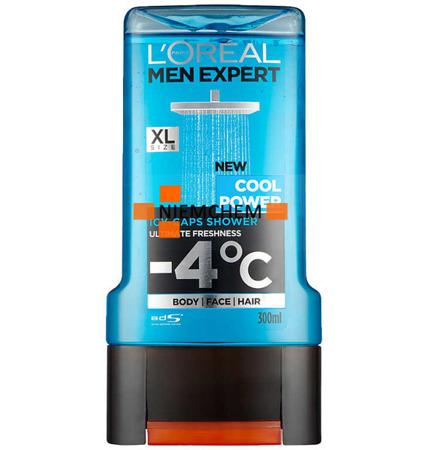 Loreal Men Expert Żel  pod Prysznic Cool Power 300 UK